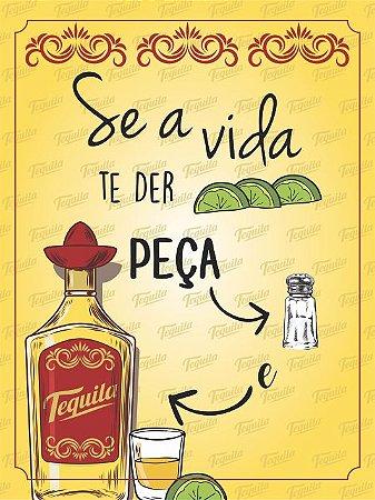 3660 Placa de Metal - Tequila