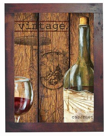 3093PG-015 Quadro Poster - Vinhos