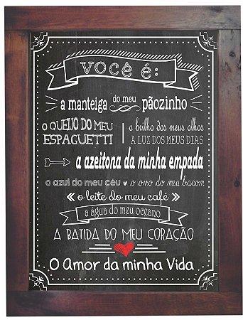 3093PG-017 Quadro Poster - Vida