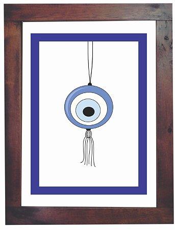 3093PG-024 Quadro Poster - Olho móbile