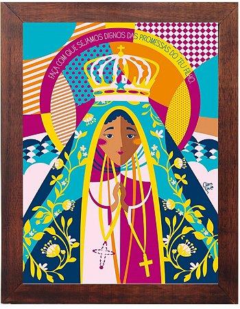 3093PG-031 Quadro Poster - Nossa Senhora Aparecida