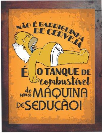 3093PG-041 Quadro Poster - Homer