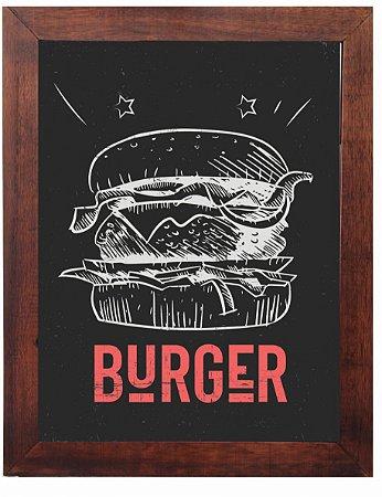 3093PG-052 Quadro Poster - Burger