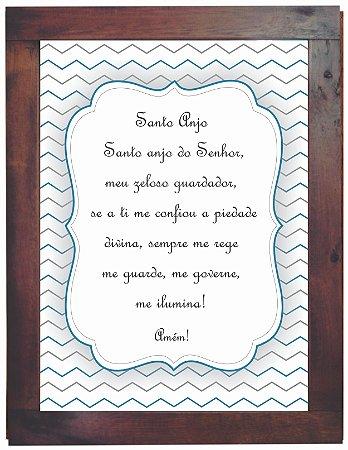 3093PG-055 Quadro Poster - Santo anjo
