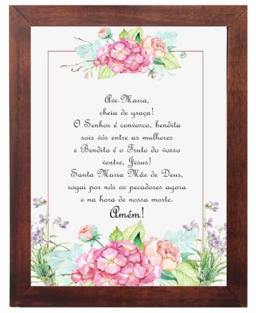 3093PG-056 Quadro Poster - Ave Maria