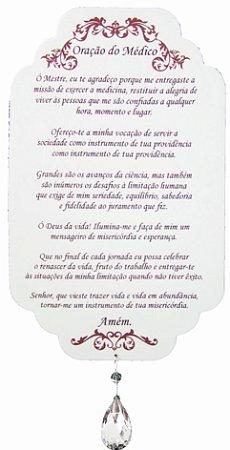 1740 Placa de oração profissão - Médico