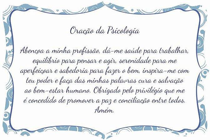 1760-010 Placa de oração profissão - Psicologia
