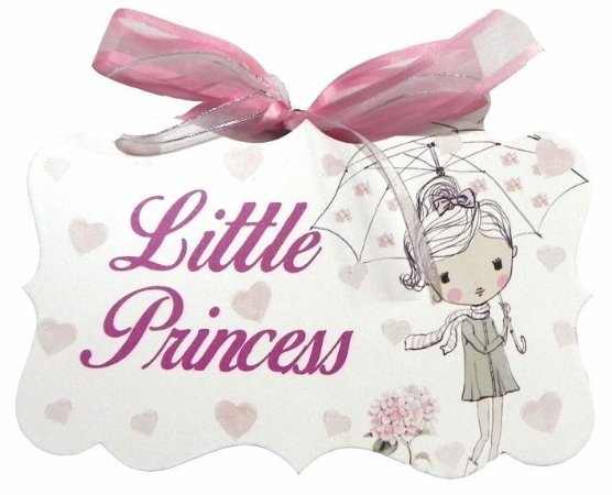 1706-010 Placa MDF - Little princess