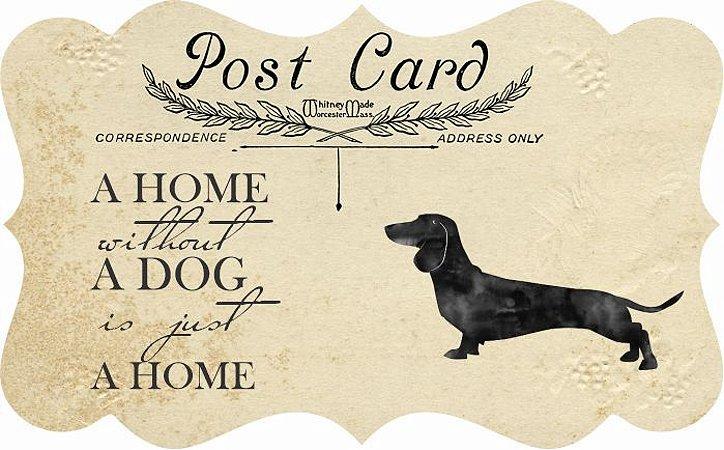 1712G-003 Placa MDF - Dog