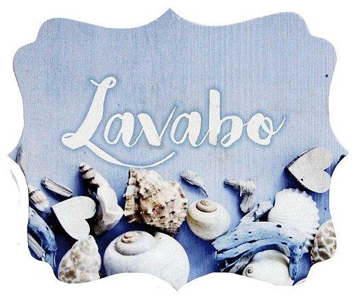 1721-004 Placa MDF - Lavabo