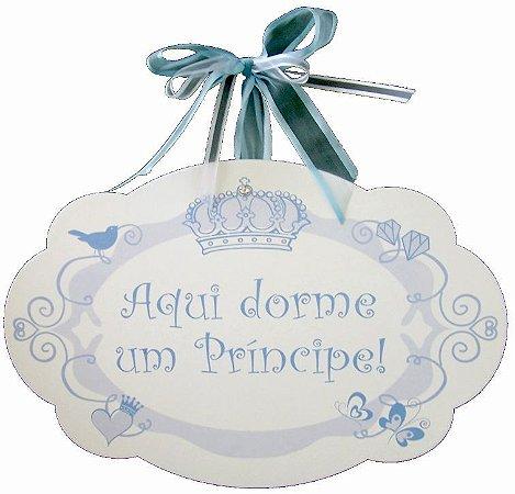 1752 Placa MDF - Príncipe coroa