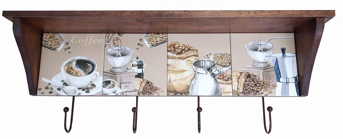 3014N-011 Prateleira de azulejo - Café