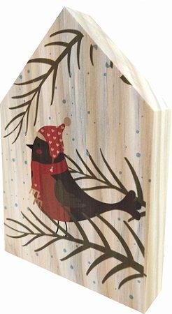 07-05-009 Decor Casinha - Pássaro Natal