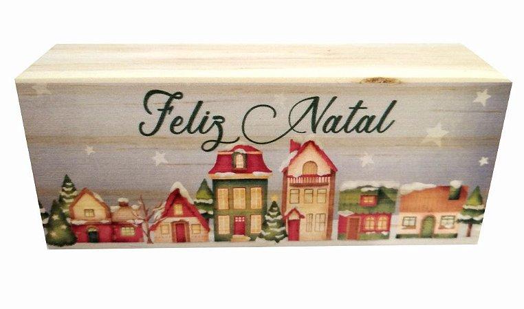 07-02-020 Decor Taquinho - Casinhas Natal