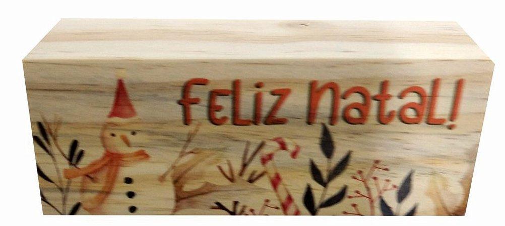 07-02-022 Decor Taquinho - Boneco Natal