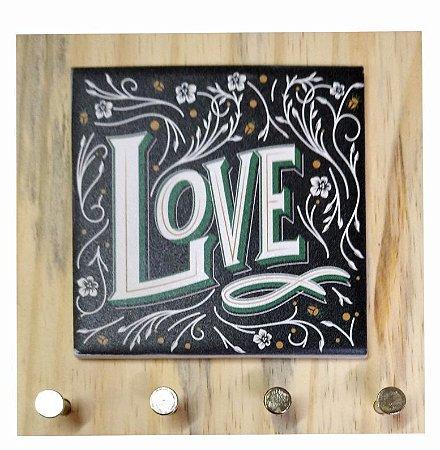 1602-009 Porta chaves Pinus - Love
