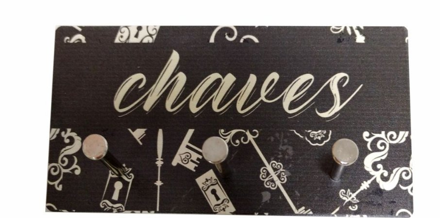 3231 Porta chaves metal - Chaves