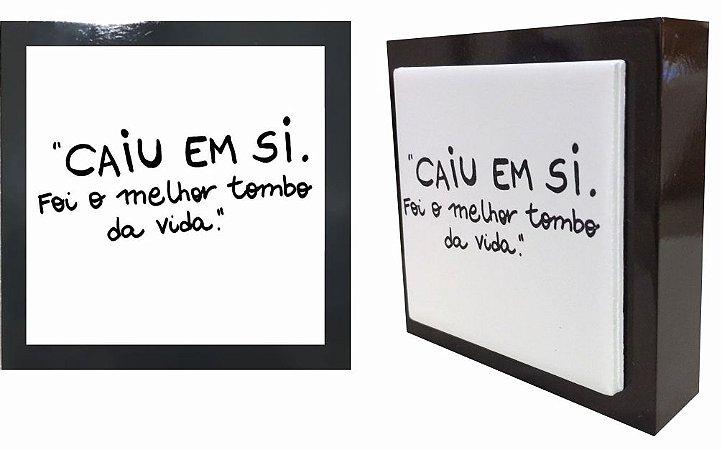 07-04-P047 Cubo Decor Preto - Caiu