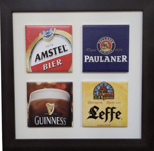 3004-016 Quadro de azulejo Decor - Cervejas