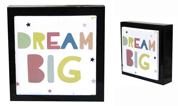 07-04-P051 Cubo Decor Preto - Big Dream