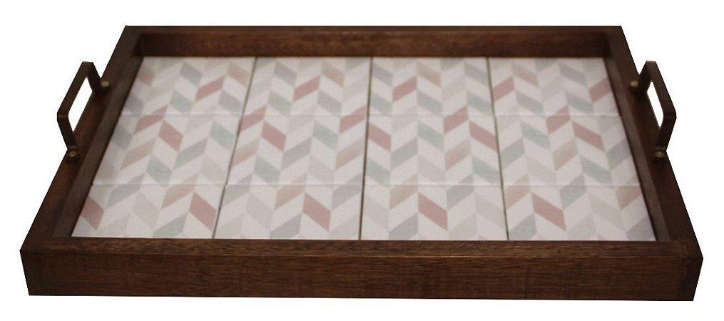 3096PM-056 Bandeja de Azulejo - Geométrico suave