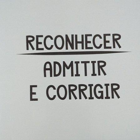 3066A-013 Placa motivacional - Reconhecer