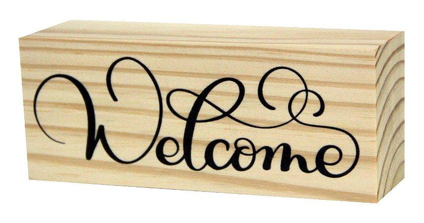 07-02-025 Decor Taquinho - Welcome