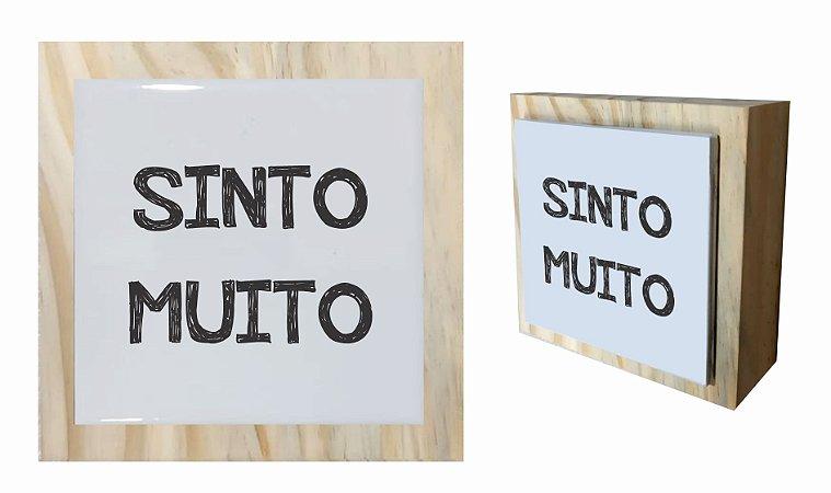 07-04-C057 Cubo Decor Cru - Sinto Muito