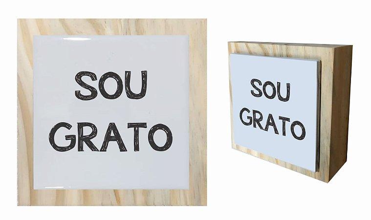 07-04-C058 Cubo Decor Cru - Sou Grato