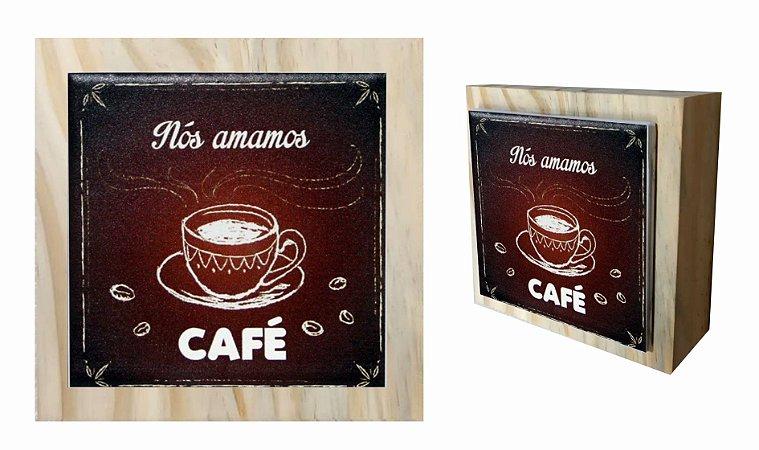 07-04-C063 Cubo Decor Cru - Café