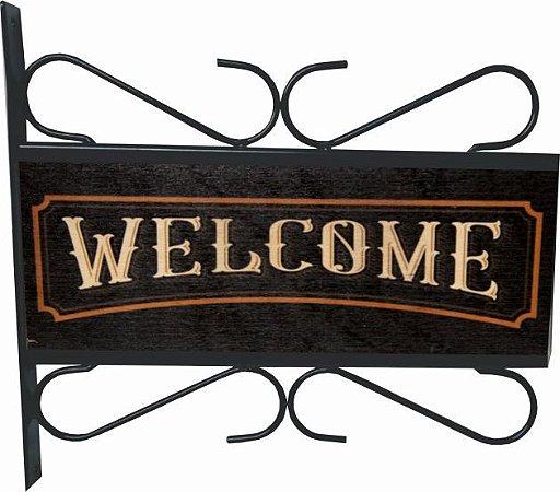 3082-019 Placa Aramada - Welcome