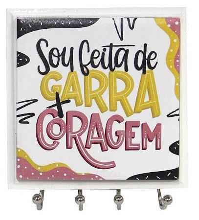 1470-039 Porta chaves Azulejo - Coragem