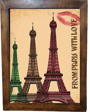3093PG-080 Quadro Poster - Paris