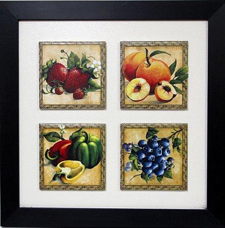 3004-019 Quadro de azulejo Decor - Morango