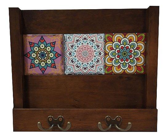 2100-004 Porta Cartas / Chaves - Vitral
