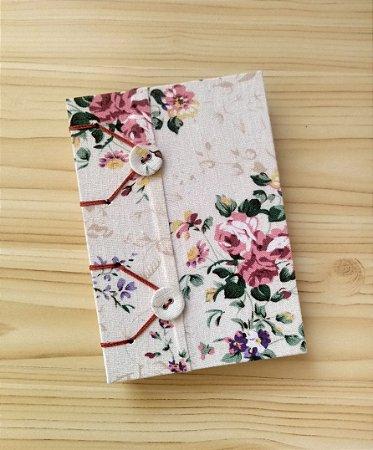 Caderno Pequeno Flores(ser)2021 (pequeno)