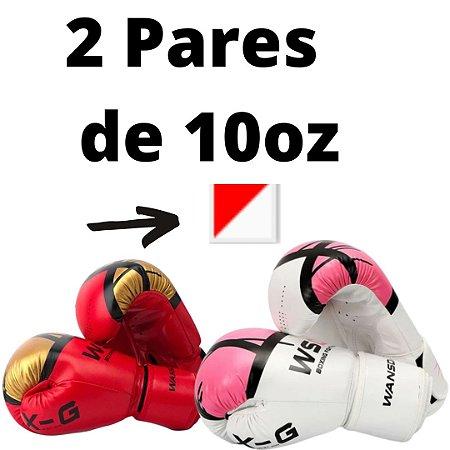 Luvas de boxe estilo WSD Pro – Boxe, MMA, Muay Thai