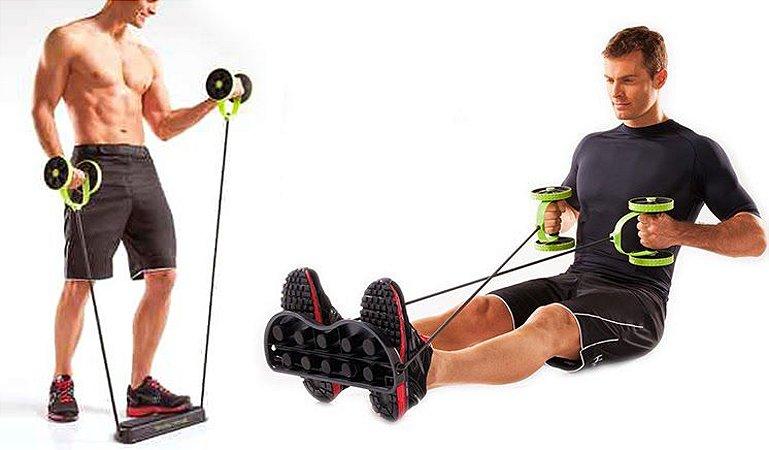 Rolo Duplo para Exercícios – FRETE GRÁTIS