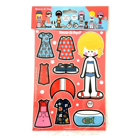 Boneca de Papel® Magnética 09