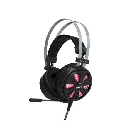 HEADSET USB GAMER 7.1 VULTURE PH G710 BK PRETO C3TECH
