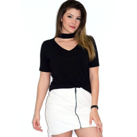 Blusa Feminina UP SIDE Choker