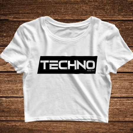 Cropped Techno - Rave ON