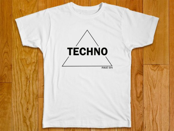 Camiseta Techno Triangle - Rave ON