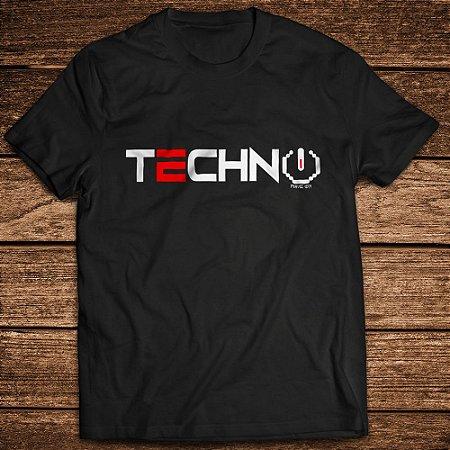 Camiseta Techno Interference - Rave ON