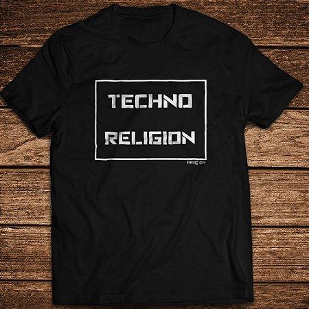 Camsieta Techno Religion - Rave ON