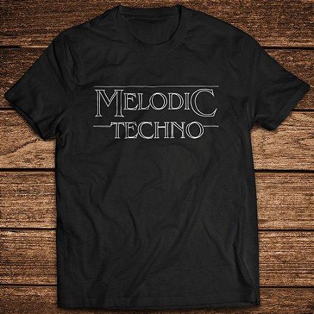 Camiseta Melodic Techno - Rave ON
