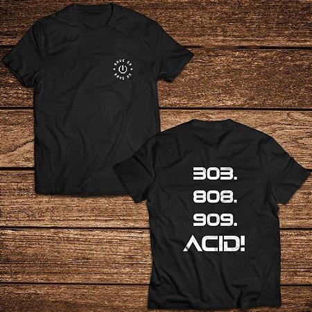 Camiseta 303 Acid - Rave ON