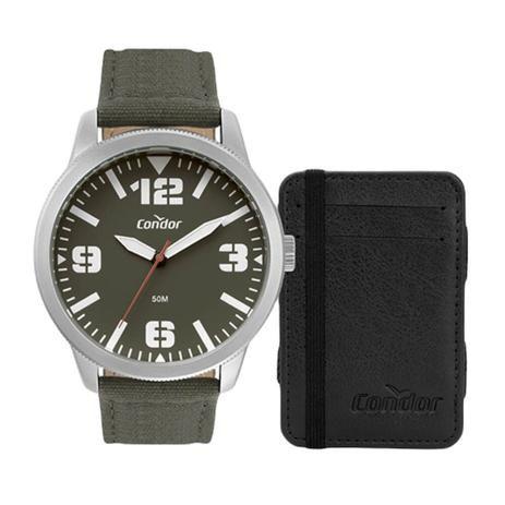 Relógio Condor CO2035MWO/K5V kit com carteira