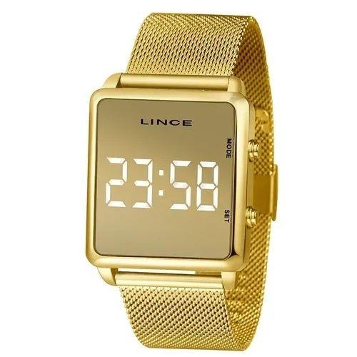 Relógio Lince Led MDG4619L BXKX