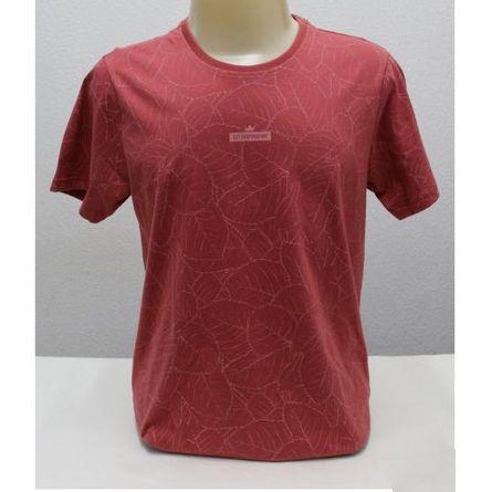 Camiseta Gola Redonda Manga Curta  Ezutus 19462